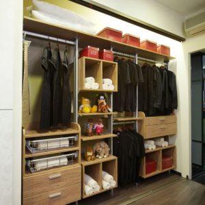 Built in closet 12