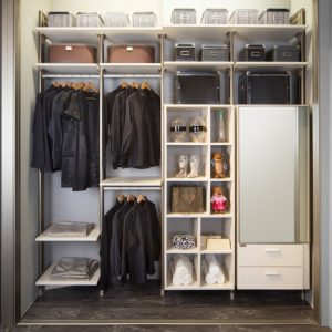 Built in closet 16