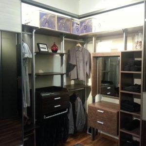 Built in closet 21