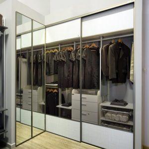 Built in closet 22