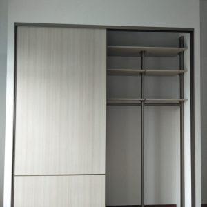 Built in closet 36
